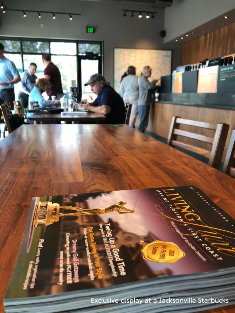 Jacksonville Starbucks Magazine