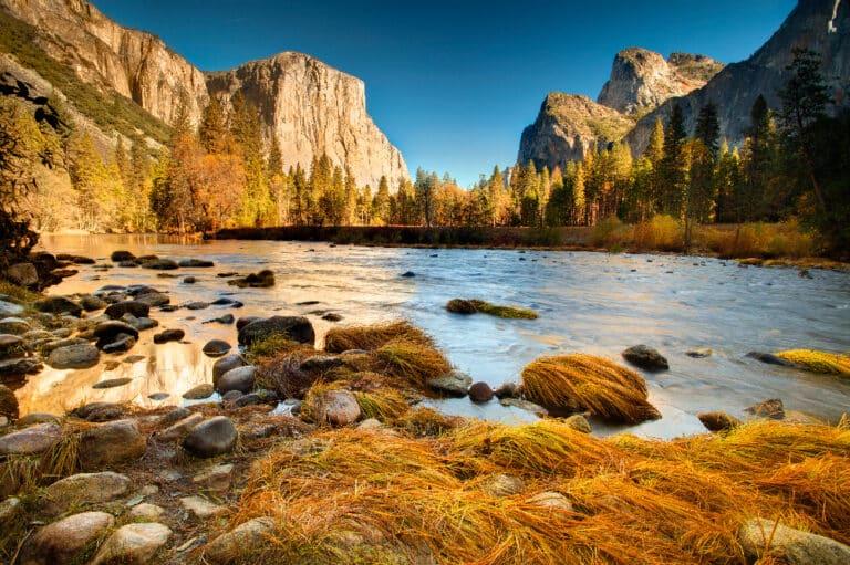 Merced River in Yosemite National Park